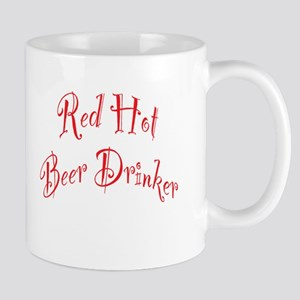 Red Hot Beer Drinker Mug